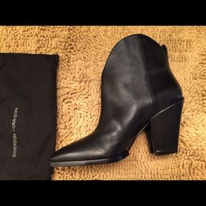Sigerson Morrison Leather Boots New w/ Box